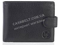 Небольшой стильный кожаный мужской кошелек из мягкой кожи CEFIRO art. CE512-538-1 черный