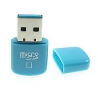 USB кардридер 2.0 MicroSD  Card Reader