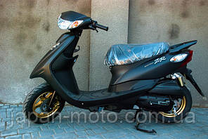 Скутер Yamaha SA39J чёрный +полный пакет документов с номерами