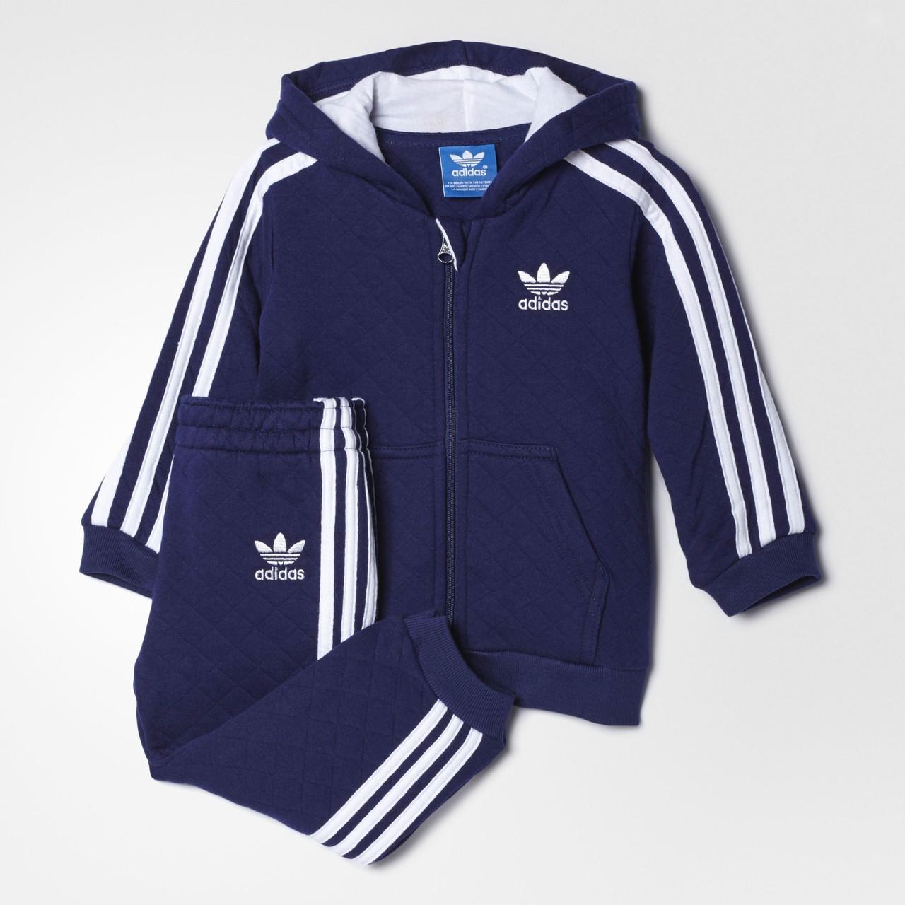 12fffcfc2a72f2 Купить Детский костюм Adidas Originals Quilted (Артикул: S95954) в ...
