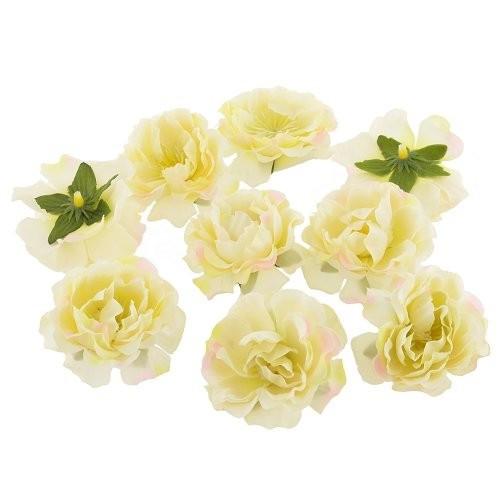 Цветы Шиповника Кремовые из ткани 5.5 см 1 шт