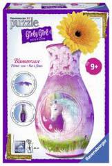 Пазл 3D Ravensburger Girly Girl. Ваза Единорог 216 элементов  120512