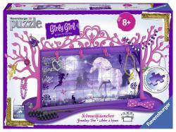 Пазл 3D Ravensburger Girly Girl. Подставка для украшений Единорог 108 элементов  120697