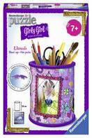 Пазл 3D Ravensburger Girly Girl. Подставка для карандашей Кони 54 элементов RSV-120758