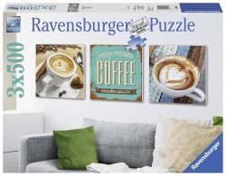Пазлы Ravensburger Время кофе 3x500 элементов  199198