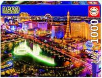 Пазлы светящийся, Лас Вегас, 1000 элементов Educa  16761
