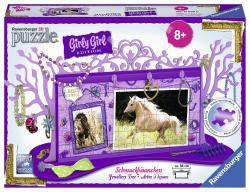 Пазл 3D Ravensburger Girly Girl. Подставка для украшений Кони 108 элементов  120680