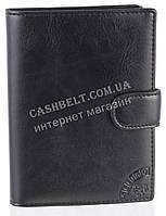 Стильная надежная кожаная обложка-документница высокого качества CEFIRO art.CE557-305G-1 черный, фото 1