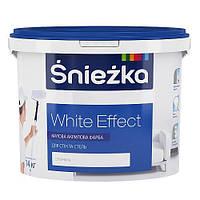 Краска Снежка ŚNIEŻKA WHITE EFFECT 4,2 кг