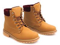Удобные ботики на шнуровке ,размер 36-41