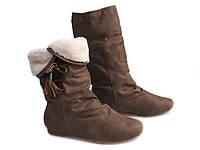 Удобные сапоги для девушек зима ,размер 37,38