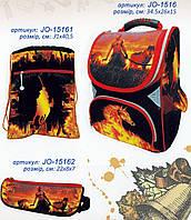 """Набор """"Казак"""" ранец ортопедический + сумка для обуви + пенал, Josef Otten JO-1516 арт.520166"""