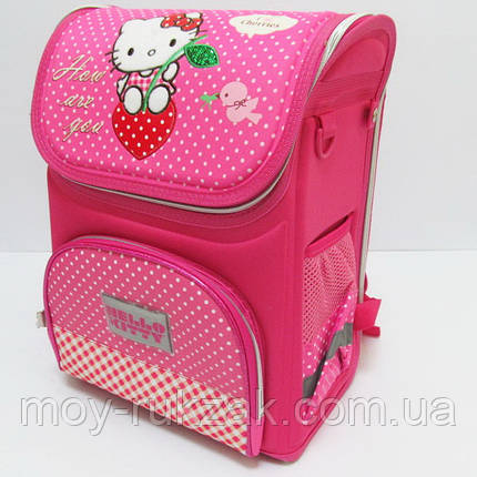 "Ранец школьный, усиленная спинка ""Hello Kitty"" арт. 520177, фото 2"