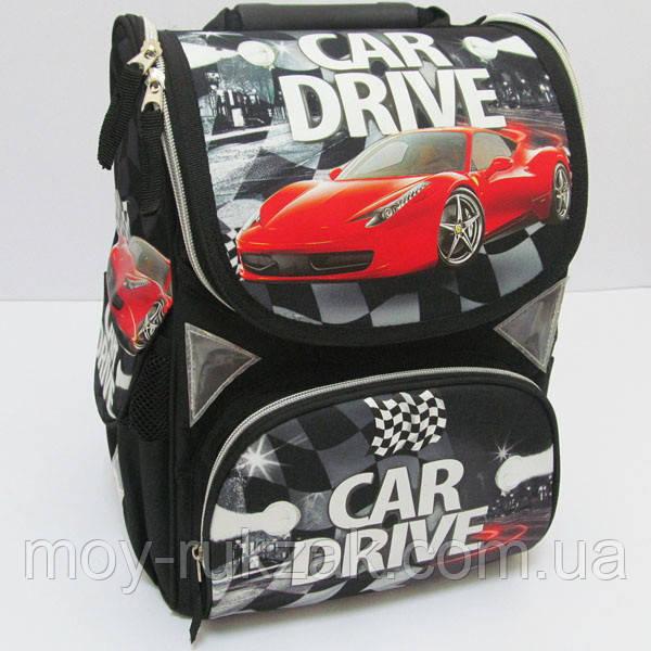 """Ранец школьный, ортопедический """"Car Drive"""" JO-1608 арт. 520008"""