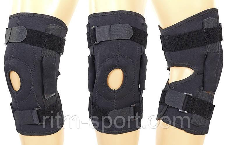 Наколенник (ортез коленного сустава) открывающийся с боковыми шарнирами (1 шт) GS-1220