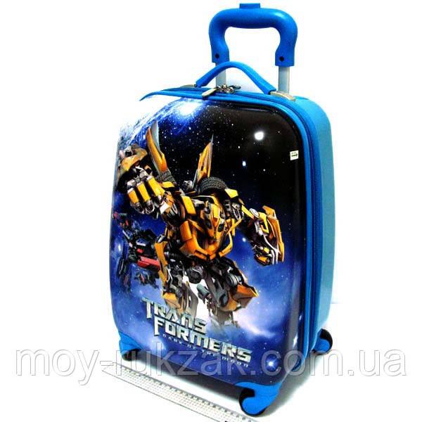 """Детский чемодан дорожный """"Josef Otten"""" Transformers на колесах"""