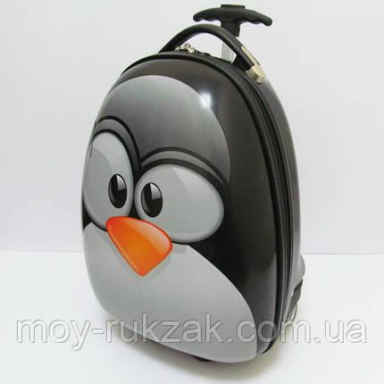 """Детский чемодан дорожный на колесах """"Josef Otten"""" Пингвин , фото 2"""