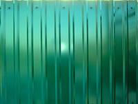 Профнастил  0,35 мм, цвет зеленый RAL 6005, 2 м