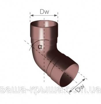 Колено трубы двух муфтовое 67,5*