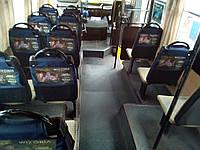 Реклама в маршрутках на сидениях без посредников