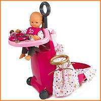 Игровой центр для ухода за куклой в чемодане Baby Nurse Smoby 220316