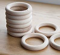 Деревянные кольца для слингобус и грызунков, 54 мм, набор 10 шт.