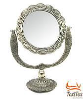 Настольное косметическое зеркало декоративное