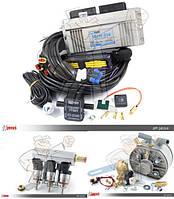 Комплект ГБО LPGTECH 326 KME Silver Hana H2001 с металлической планкой 200 л.с 6 цил.
