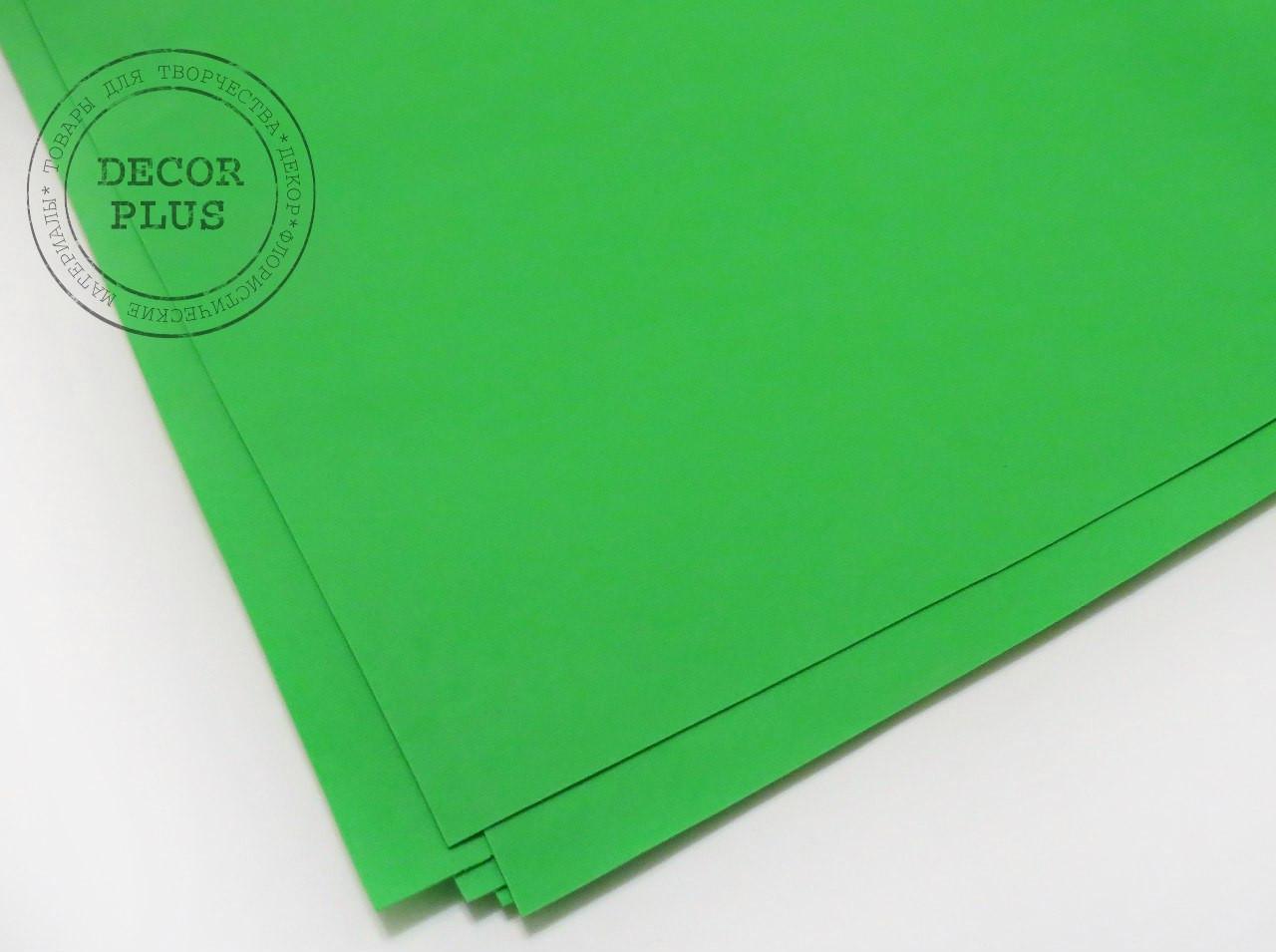 Фоамиран иранский №015 - св-зеленый