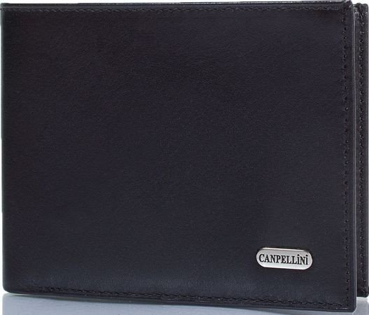 Зручний чоловічий шкіряний гаманець CANPELLINI