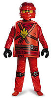 Костюм карнавальный Лего Ниндзяго Кай LEGO Ninjago Kai Deluxe Costume