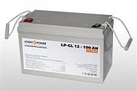 Аккумулятор гелевый 12V 100Ah LogicPower LP-GL 12-100
