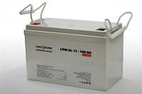 Аккумулятор гелевый 12V 100Ah LogicPower LPM-GL 12-100
