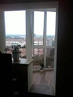 Внутренняя и наружная обшивка балкона, лоджии под ключ