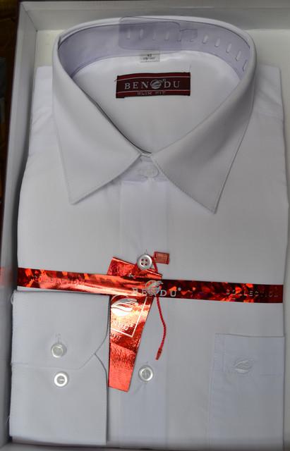 Приталенная мужская рубашка BENDU (размеры под заказ)