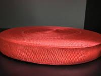 Тесьма ТРО 23мм (100м) красный