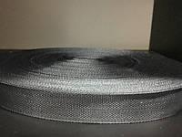 Тесьма ТРО 23мм (100м) серый