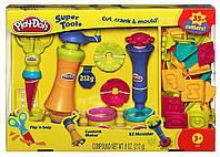 Play Doh Набор пластилина Супер инструменты формочки цифры и буквы 23495