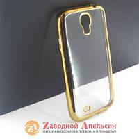 Samsung i9500 S4 чехол Electroplating