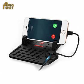 Коврик антискользящий REMAX RM-CS101 с зарядкой телефона