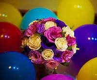 Оформления свадьбы живыми и искусственными цветами,букет невесты!
