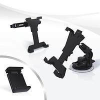 Универсальный держатель для планшета и телефона в машину и домой iTech ShowPad24