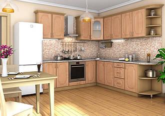 "Угловая кухня ""Сансет 2400 x 2500"" Garant"
