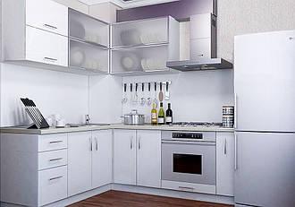 """Угловая кухня """"Делис 1200 x 1400"""" Монако"""