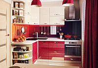 "Угловая кухня ""Juice 1,5 м х 2,2 м"" Альфа-Мебель"