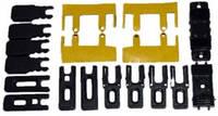 Монтажный комплект герметичных прокладок и заглушки для С640 (на 2 створки, 2-х полозного профиля)