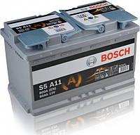 Аккумулятор Bosch S5 AGM 80AH/800A (S5A11)