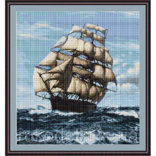 Вышивки крестом наборы корабль