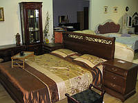 АКЦИЯ !!! Cкидка -40% Кровать 1,8 + 2 тумбочки (массив дуба)