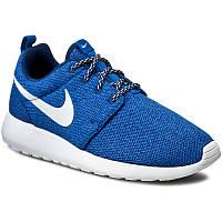 Ботинки NIKE - Roshe Run 844994 400 Coastal Blue/White/Blue Spark